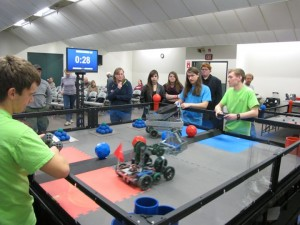 VEX Robotics Competition Exhibition in Greencastle, Indiana