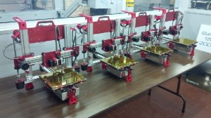 Smaller RepRap style 3D printer that 3D Parts Manufacturing is offering
