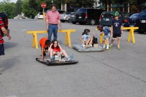 Washington Street Hovercraft overshoot