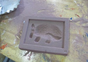 sand block carving for aluminum