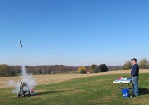 Rocket launch picture