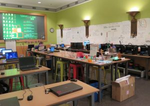Chicago's Maker Lab on the 3rd Floor in the Harold Washington Library downtown.