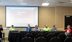 Makevention Makerspace panel which included Castlemakers.