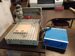 Imported CNC table and parallel controller.