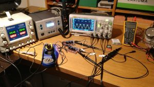 Electronics workbench oscilloscope