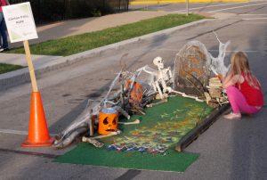 Clinton Falls Run mini-golf hole - Putt Putnam County